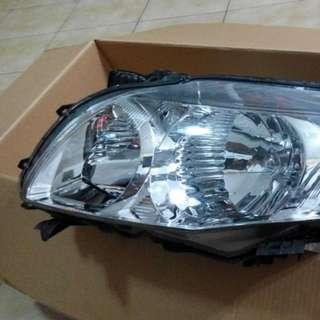 (送)(Free)(自取) Toyota altis (2008)車燈罩 非HID頭燈 -- 單側(駕駛座前方)#全部五折出清