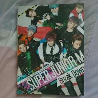 降價$SuperjuniorM Break Down台壓版專輯