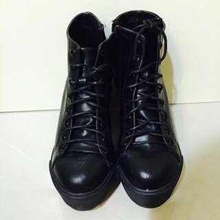 Air Space厚底短靴(保留中)