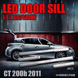 🚚 LEXUS CT200h專用改裝 LED冷光 門檻踏板 LED迎賓踏板 #新春5折