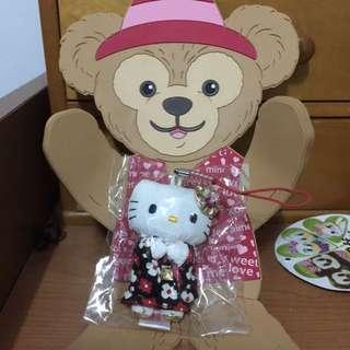 Kitty和服手機吊飾