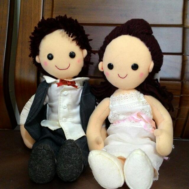 純手工婚禮娃娃