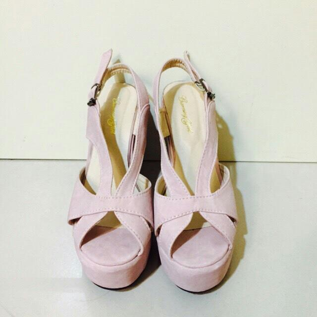 魚口楔形鞋(保留中)