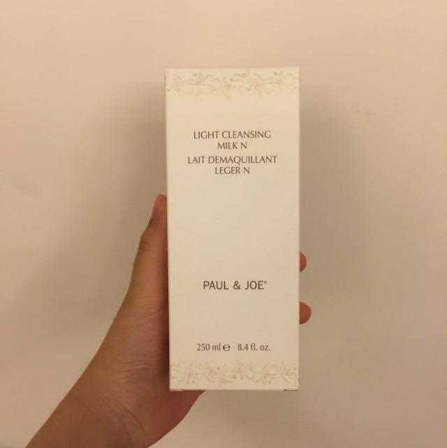 全新 百貨公司購入 Paul&joe PJ P&J 橙花水凝潔膚乳