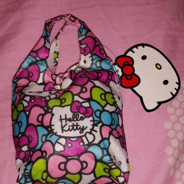 全新 Hello Kitty 日本迪士尼正品 防水時尚購物袋