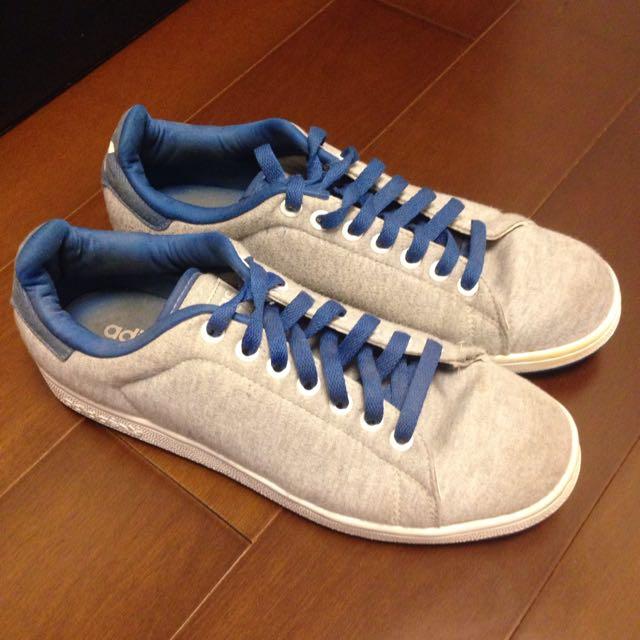 Adidas Originals 灰藍配色Stan Smith UK8.5