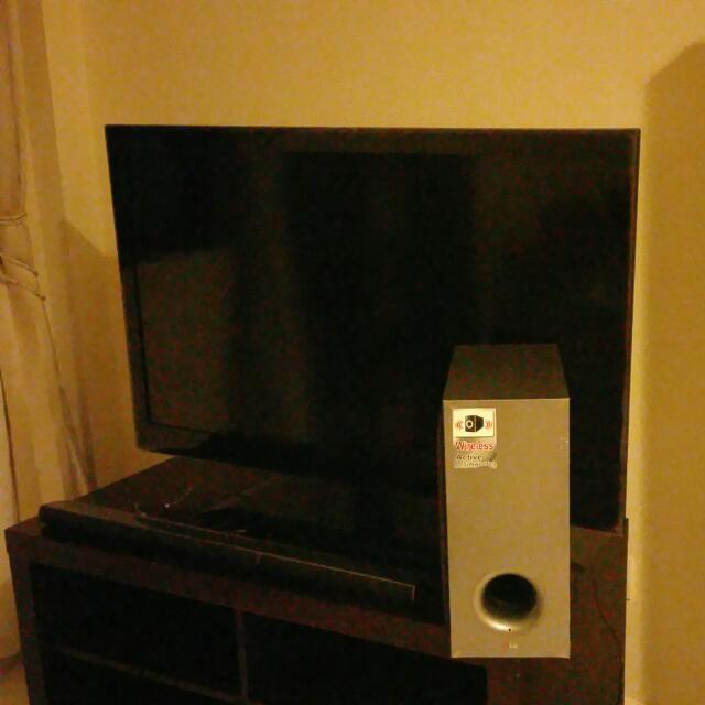 "LG 42"" Led Lcd Smart Ready Tv And LG 320W Nb3540 Sound Bar"