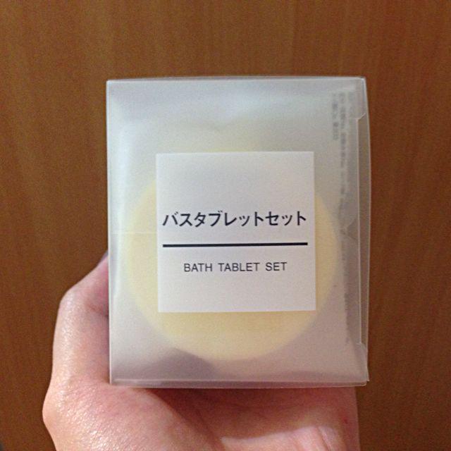 MUJI無印良品 沐浴錠組(5入)