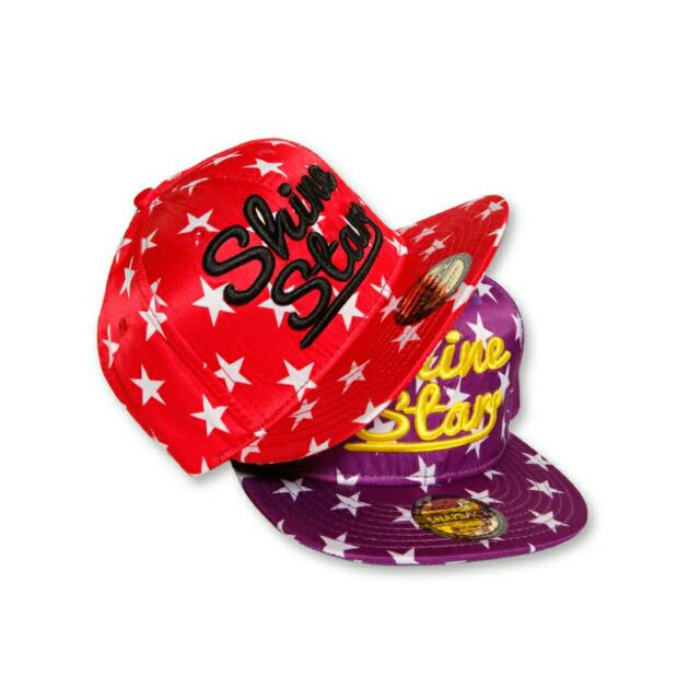 降價🔰9.5新✨瑪菲斯SEXYDIAMOND閃耀之星棒球帽/紅底白星