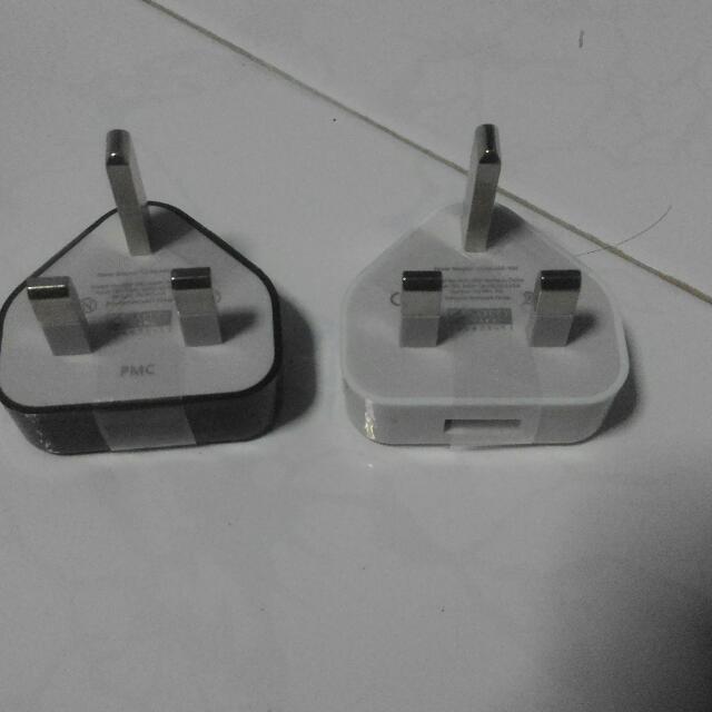 USB Power Plug (Black or White)