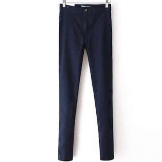 American Apparel高腰顯瘦彈性牛仔褲