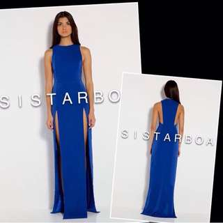 RENT: Royal Blue Evening Dress