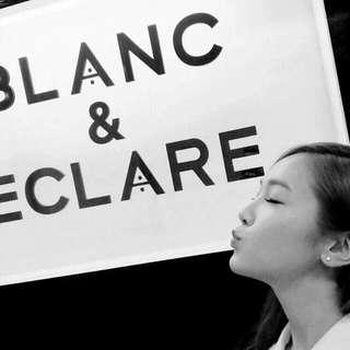 JESSICA'S 'BLANC & ECLARE' SUNGLASSES.