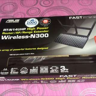 Brand New Router Asus