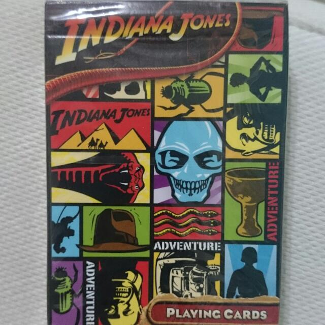 印第安那瓊斯撲克牌