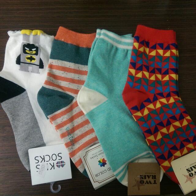 全新可愛小短襪