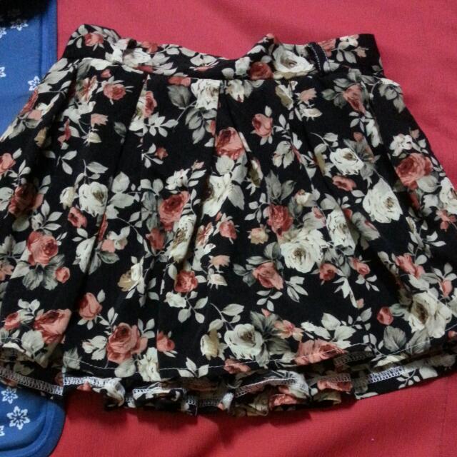 (含運)復古花褲裙