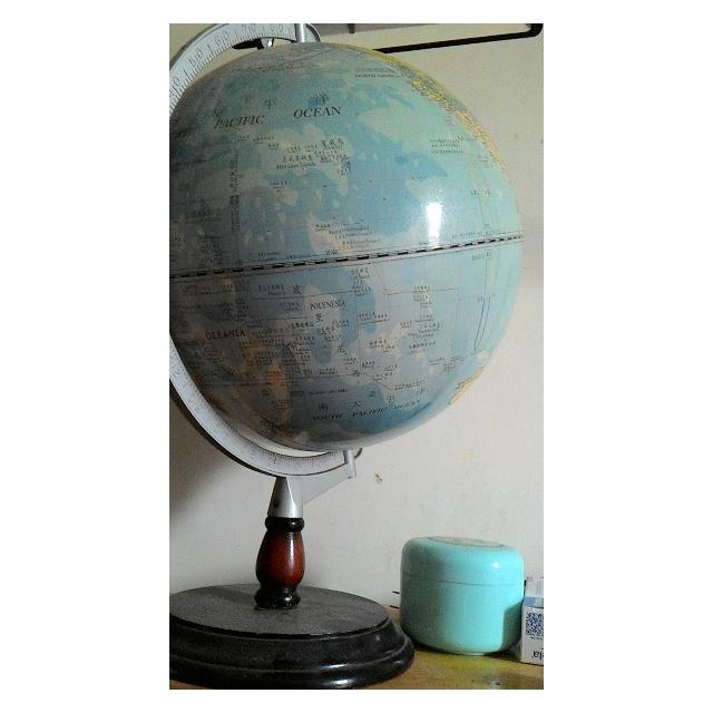 二手地球儀