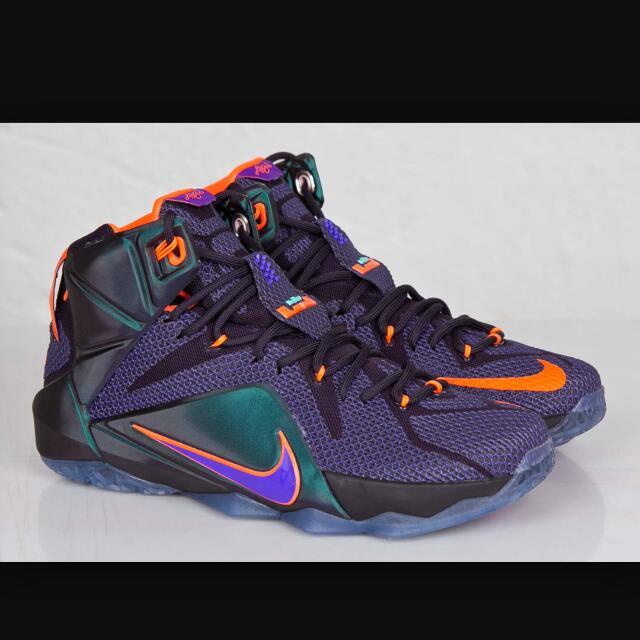 best service bea4e 8e93e Authentic Nike Lebron 12 Purple. Brand New Shoe. , Men s Fashion on  Carousell