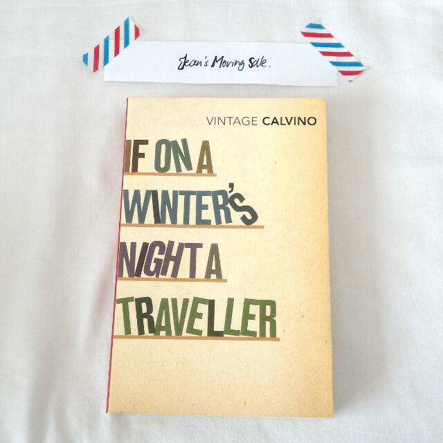 """""""If On A Winter's Night A Traveller"""" by Italo Calvino"""