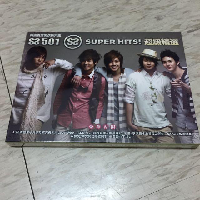 SS501 Super Hits! 超級精選 兩張