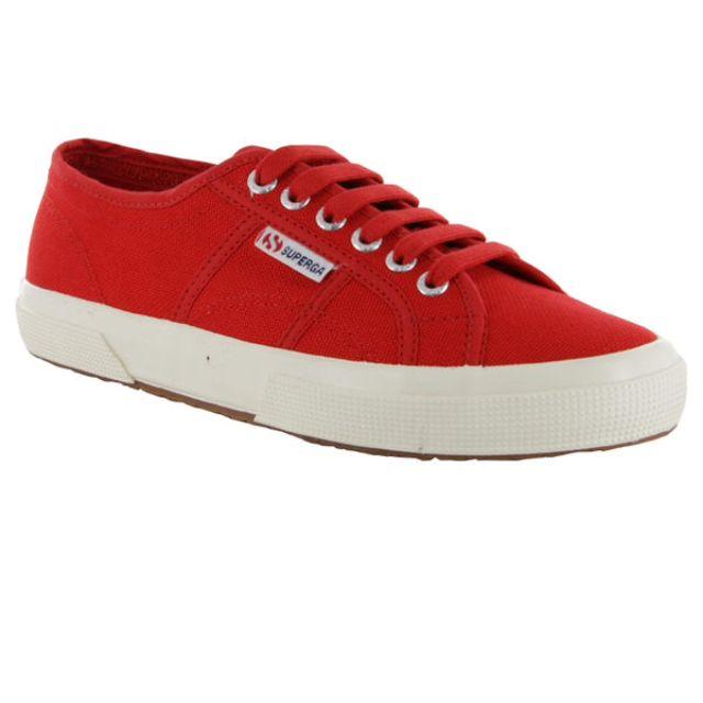 紅色Superga