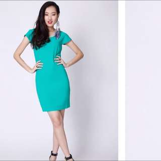 Blake & Co. Less Is More Emerald Green Dress