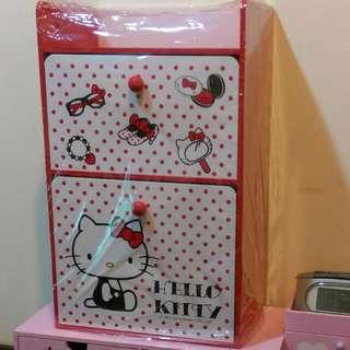 ✨三麗鷗kitty 抽屜櫃(大)💯難得的紅色喲