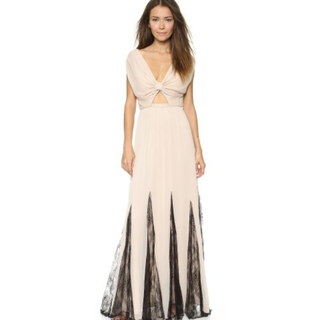 Brand new alice + olivia Ginevia Knot Front Maxi Dress