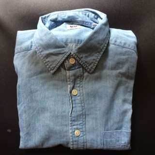 Uniqlo Denim L/S Shirt