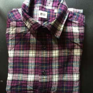 Uniqlo Flannel Check L/S Shirt