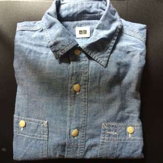 Uniqlo L/S Chambray Shirt