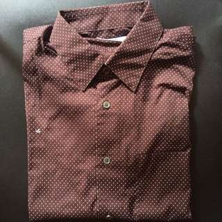 Uniqlo Dots L/S Shirt