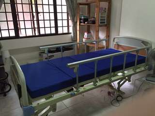 3-Crank Electronic Hospital Bed
