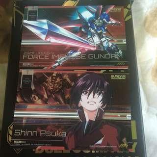 R5 Force Impulse And Shinn Asuka Gundam Duel Company