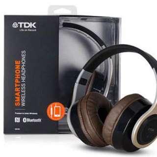 TDK WR780 Gold Wireless Headphones (BNIB)