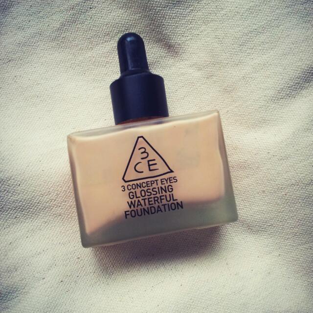 (待匯)3ce水感粉底液 #nude beige