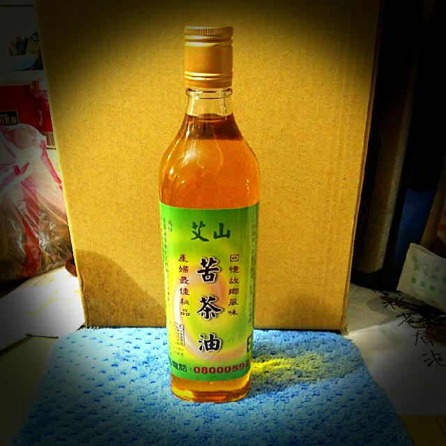 純手工榨 - 天然苦茶油(最安心)