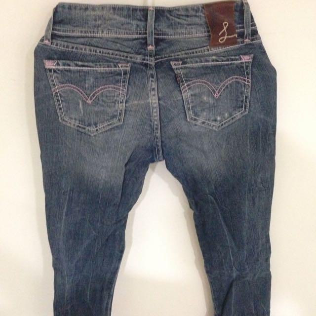 二手 Levi's牛仔褲24