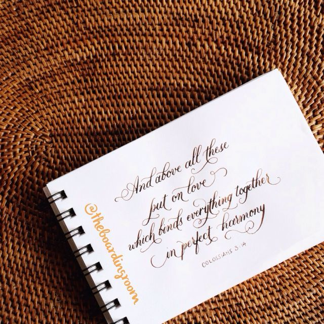 Bespoke Calligraphy Service - Quotes, Verses