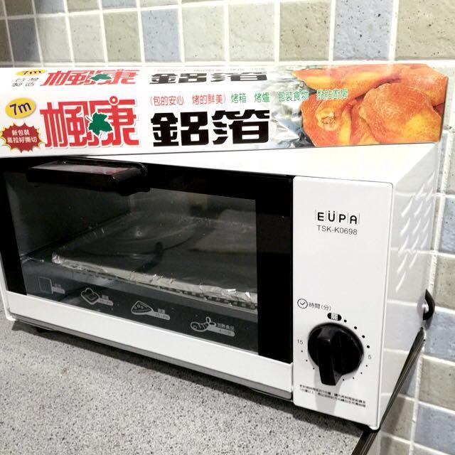 [洽中]EUPA 燦坤 小烤箱 租屋必備 9成新