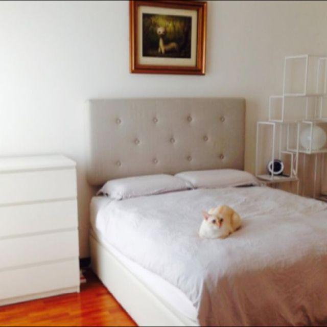 Fully Furnished Master Bedroom -8 min to Serangoon MRT (1st Jul)