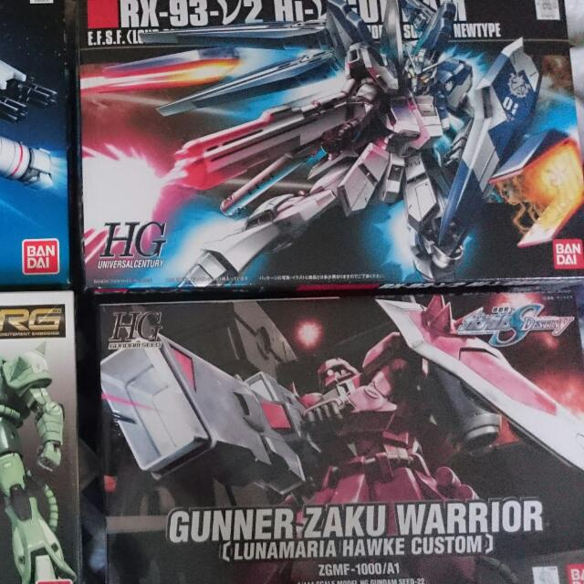 Gundams Galore!!!