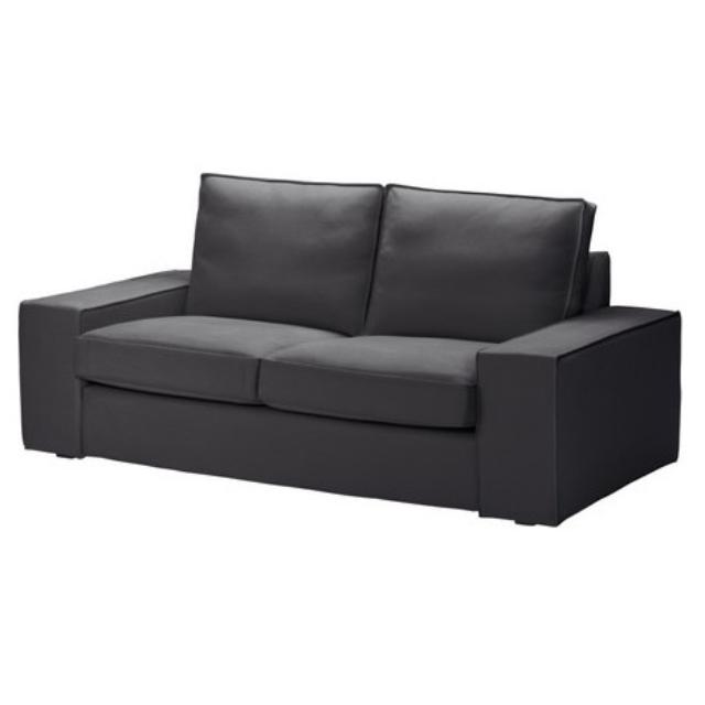Ikea kivik 2 seater sofa in darkgray perfect condition for Sofa kivik 2 plazas