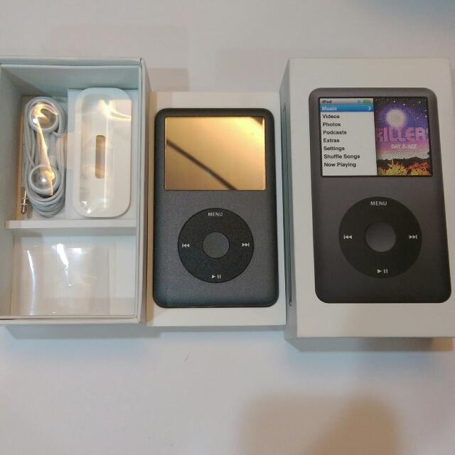 (保留中)iPod classic 160GB