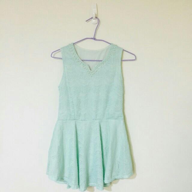 Tiffany綠洋裝