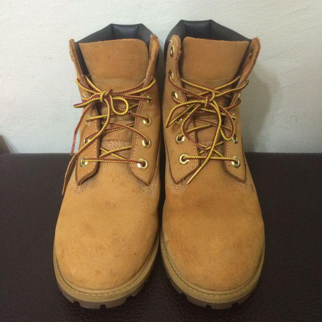 (二手)timberland經典黃靴
