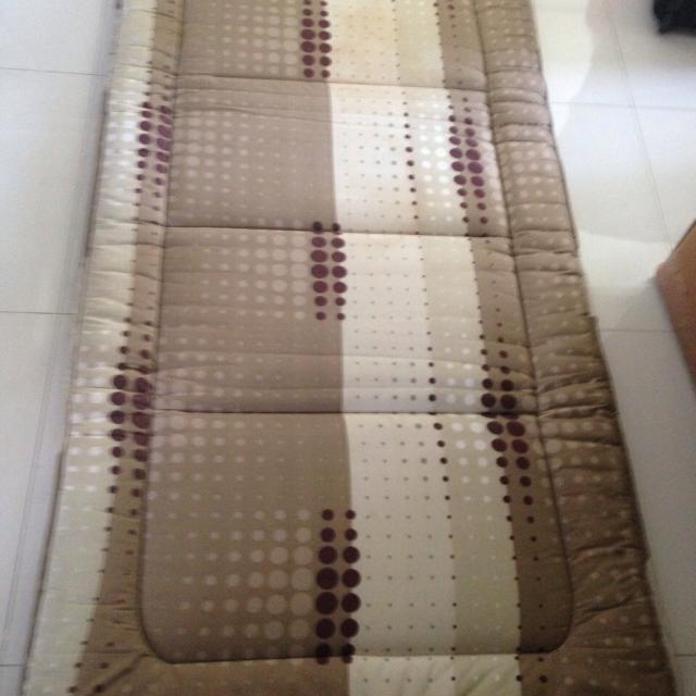 Used Single Foldable Mattress