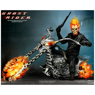 Hot Toys MMS 133: Ghost Rider with Hellcycle