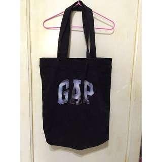 gap 黑色Logo購物袋(保留中)